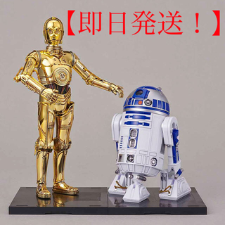 バンダイ(BANDAI)のスター・ウォーズ 最後のジェダイ C-3PO & R2-D2プラモデル(SF/ファンタジー/ホラー)
