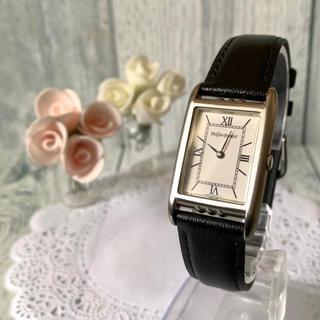 サンローラン(Saint Laurent)の【動作OK】Yves Saint Laurent 腕時計 スクエア ボーイズ 銀(腕時計(アナログ))
