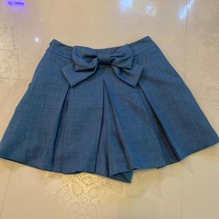 ロディスポット(LODISPOTTO)の美品LODISPOTTO★リボンキュロットスカートSサイズ(キュロット)