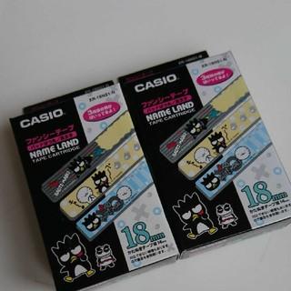 カシオ(CASIO)のCASIO ネームランド バットばつ丸 テープ(テープ/マスキングテープ)