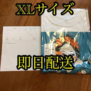 カーハート(carhartt)のover print Tシャツ 古塔つみ POP ART Tee blue XL(Tシャツ(半袖/袖なし))