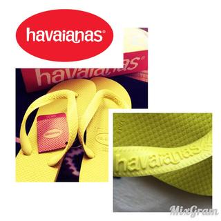 ハワイアナス(havaianas)の限定2足☆★ハワイアナス イエロー☆(ビーチサンダル)
