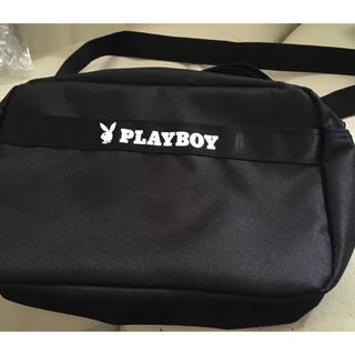 プレイボーイ(PLAYBOY)の新品 プレイボーイ ブラック 黒 ショルダーバッグ ウサギ(ショルダーバッグ)