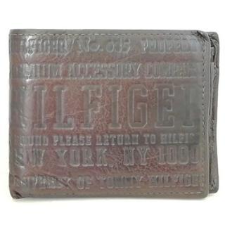 トミーヒルフィガー(TOMMY HILFIGER)のトミーヒルフィガー 2つ折り財布 レザー(財布)
