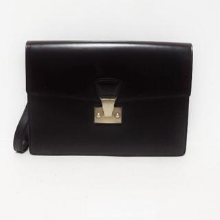 カルティエ(Cartier)のカルティエ セカンドバッグ美品  パシャ 黒(セカンドバッグ/クラッチバッグ)