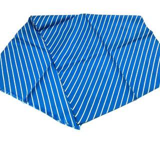 ラルフローレン(Ralph Lauren)のラルフローレン スカーフ美品  ブルー×白(バンダナ/スカーフ)