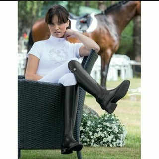 ポロラルフローレン(POLO RALPH LAUREN)の乗馬 馬術 ロングブーツ 長靴 チョーカー 競技会(ブーツ)