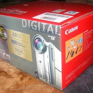 キヤノン(Canon)の■Canon■IXY DV M5■DVM5■写真DV■ソードシルバー(ビデオカメラ)
