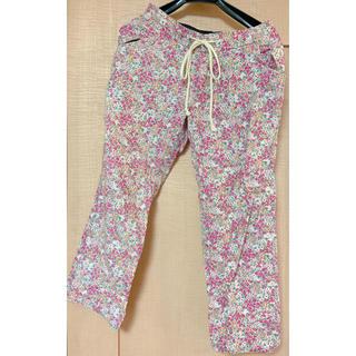 ハコ(haco!)の小花の総柄パンツ ピンク(カジュアルパンツ)