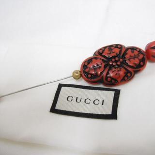 グッチ(Gucci)の【美品】GUCCI グッチ ブローチ ピンブローチ 正規品(その他)