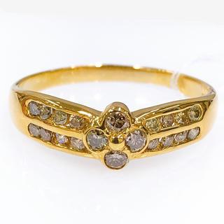 K18 ブラウンダイヤモンドリング 0.54ct(リング(指輪))