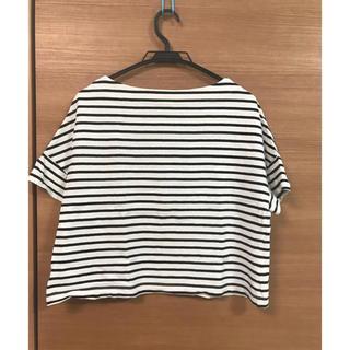 ミスティウーマン(mysty woman)のボーダーTシャツ(Tシャツ(半袖/袖なし))