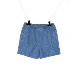 ピースマイナスワン(PEACEMINUSONE)のpeaceminusone DENIM SHORTS #1 BLUE パンツ(ショートパンツ)