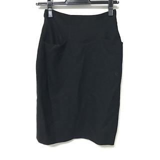 シビラ(Sybilla)のシビラ ロングスカート レディース美品  黒(ロングスカート)