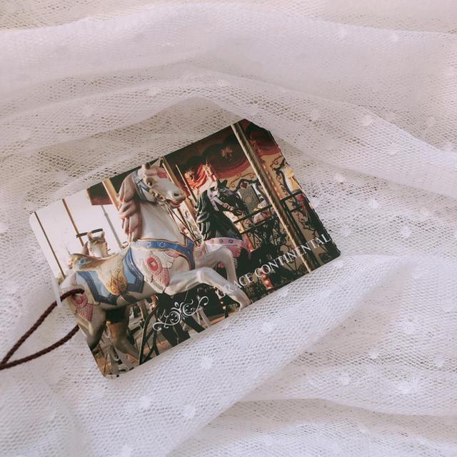 GRACE CONTINENTAL(グレースコンチネンタル)の新品!グレースコンチネンタル チュールドレス レディースのフォーマル/ドレス(ミディアムドレス)の商品写真