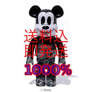 メディコムトイ(MEDICOM TOY)のBE@RBRICK BAPE MICKEY MOUSE Ver. 1000%(その他)