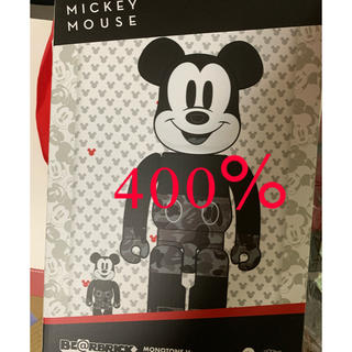 メディコムトイ(MEDICOM TOY)のBE@RBRICK BAPE MICKEY MOUSE 100&400%(その他)