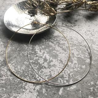 ビューティアンドユースユナイテッドアローズ(BEAUTY&YOUTH UNITED ARROWS)のSALE!slim metal choker-silver-(ネックレス)