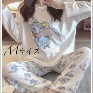 長袖パジャマ ダンボ巾着付き Mサイズ(パジャマ)