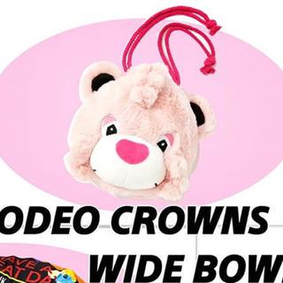 ロデオクラウンズ(RODEO CROWNS)のぬいぐるみポーチ ロデオクラウンズ (ポーチ)