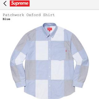 シュプリーム(Supreme)の定価以下 supreme patchwork oxford shirt(シャツ)