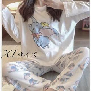 長袖パジャマ ダンボ巾着付き XLサイズ(パジャマ)