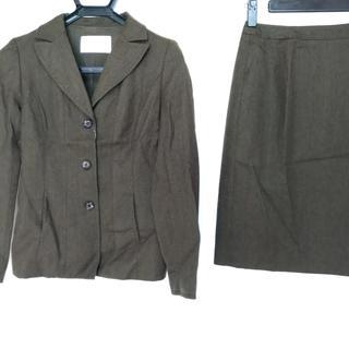 ハロッズ(Harrods)のハロッズ スカートスーツ サイズ1 S カーキ(スーツ)