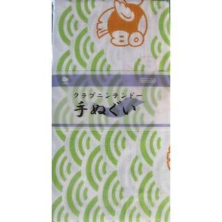 ニンテンドウ(任天堂)のクラブニンテンドー 手ぬぐい プクプク サイズ 34×90cm★新品未使用(その他)