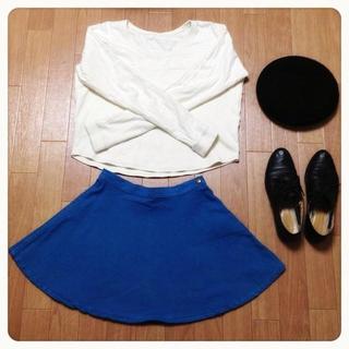 アメリカンアパレル(American Apparel)のアメアパ フレアスカート♡(ミニスカート)