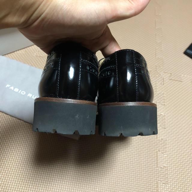 FABIO RUSCONI(ファビオルスコーニ)の人気完売品 ファビオルスコーニ レースアップシューズ 38 レディースの靴/シューズ(ローファー/革靴)の商品写真