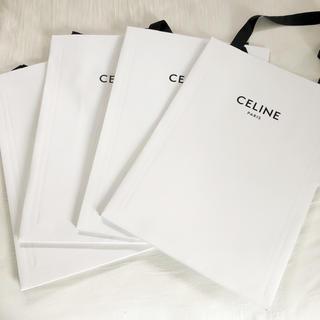 セリーヌ(celine)のCELINE ショッパー  紙袋 4枚 大 セリーヌ ショップ袋 エディ(ショップ袋)