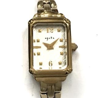 アガット(agete)のagete(アガット) 腕時計 レディース FIRST(腕時計)