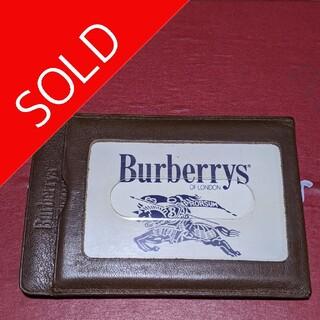 バーバリー(BURBERRY)のBurberrys of Londonヴィンテージカードパスケースunisex❗(名刺入れ/定期入れ)