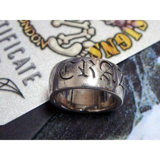 クレイジーピッグ(CRAZY PIG)のCRAZY PIG DESIGNSクレイジーピッグ スモールゴシックCPDリング(リング(指輪))
