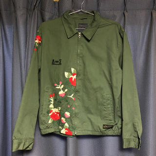 ザラ(ZARA)のZARA 刺繍ジャケット(スカジャン)