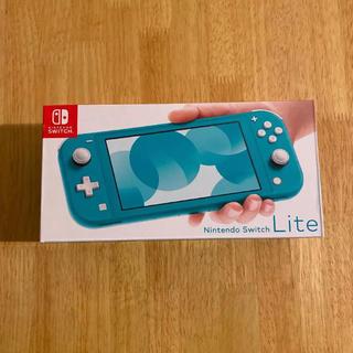 ニンテンドースイッチ(Nintendo Switch)の任天堂スイッチライト ターコイズ(家庭用ゲーム機本体)