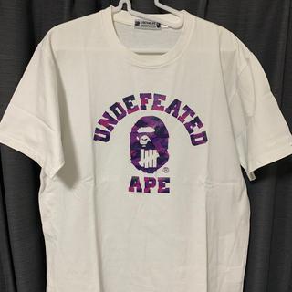 アンディフィーテッド(UNDEFEATED)のundefeated a bathing ape ape bape(Tシャツ/カットソー(半袖/袖なし))