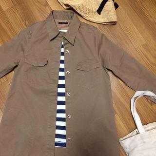 アーバンリサーチロッソ(URBAN RESEARCH ROSSO)のROSSO ロングシャツ ジャケット(スプリングコート)
