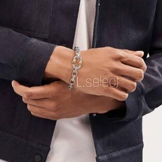 ステュディオス(STUDIOUS)の395.makers chain bracelet(ブレスレット)