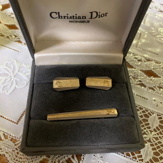 ディオール(Dior)のDIOR カフス ネクタイピン(ネクタイピン)
