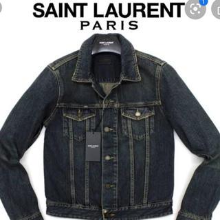 サンローラン(Saint Laurent)の【ケリングタグ付き】SAINT LAURENT 15SS デニムジャケット(Gジャン/デニムジャケット)