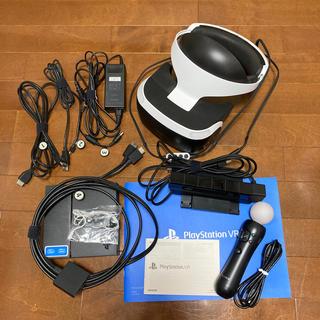 プレイステーションヴィーアール(PlayStation VR)の黒ロン様専用 【旧型】 PSVR、PSカメラ、モーションコントローラーセット(その他)