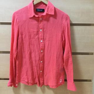 ダブル(DOWBL)の【複数割】DOWBL ダブル フラミンゴカラーシャツ サイズ42(S〜M相当)(シャツ)