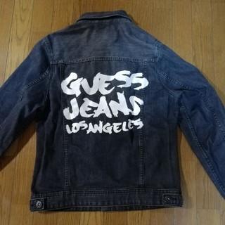 GUESS - GUESS ペンキペイント デニムジャケット