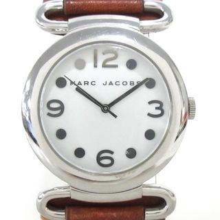 マークバイマークジェイコブス(MARC BY MARC JACOBS)のマークジェイコブス 腕時計 MBM1062 白(腕時計)