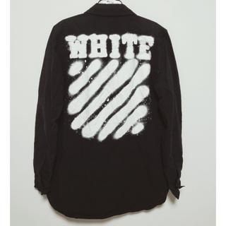 オフホワイト(OFF-WHITE)のOff-White Spray シャツ オフホワイト(シャツ)