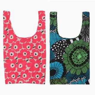 マリメッコ(marimekko)のmarimekko マリメッコ 人気のエコバッグ2個 スマートバッグ 新品送料込(エコバッグ)