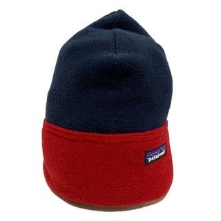 パタゴニア(patagonia)のパタゴニア 帽子 S美品  ネイビー×レッド(その他)