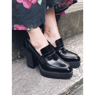 アメリヴィンテージ(Ameri VINTAGE)のアメリヴィンテージ プラットフォームローファー(ローファー/革靴)