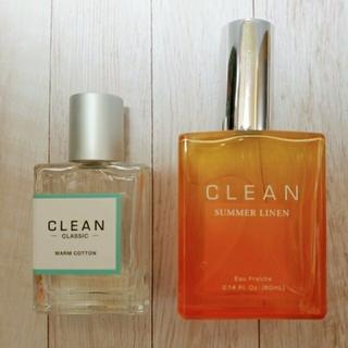クリーン ウォームコットン 30ml サマーリネン 60ml 2本セット 香水